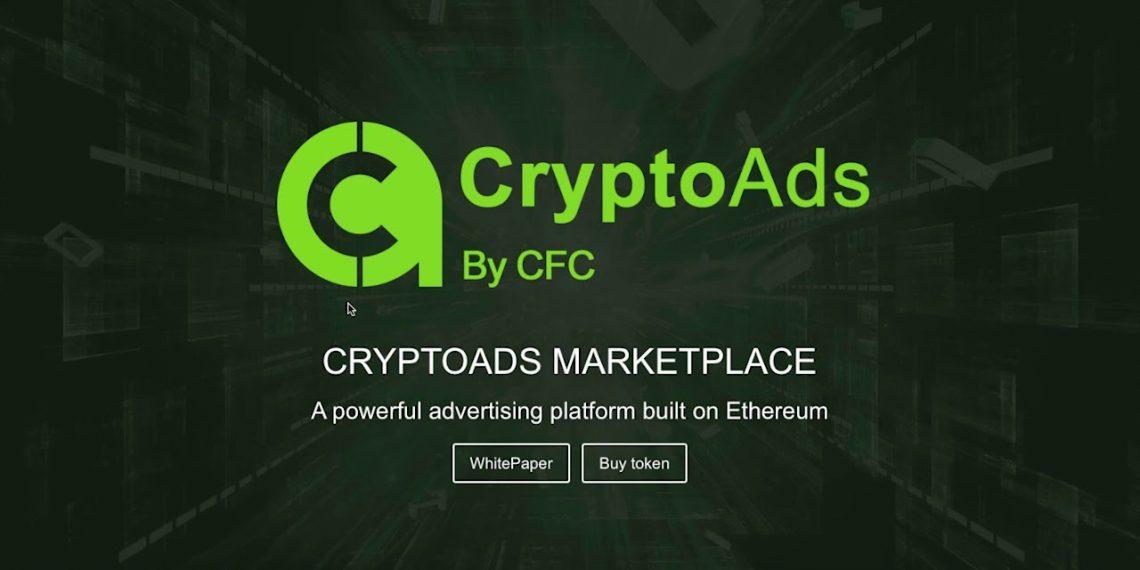 cryptocurrency advertising platform